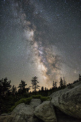 Milky Way from Glacier Point photo by Bill Shupp