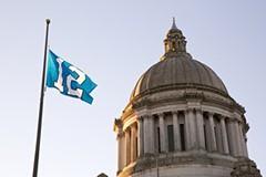 12th Man Flag - Capitol