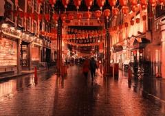 Night walk under the red lanterns [ Explored 18th February 2014] photo by Patrizia Ilaria Sechi