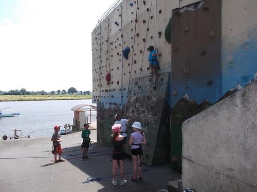 Stage Jeunes : escalade à Ribou