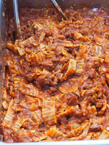 Bacon Lasagna