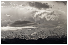 Alaska Range on a Stormy Day © photo by jeanne.marie.