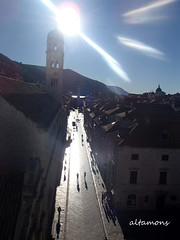 Dubrovnik: First look  - brilliant sun! photo by altamons