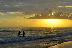 Togather With The Sunset.......Radha Nagar Beach, Havelock Island, Andaman photo by Biswajit_Dey