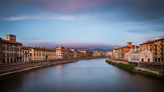 The Pastel Sky of Pisa photo by Vaidas M