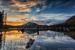 Sunset Mary Lake photo by aland67