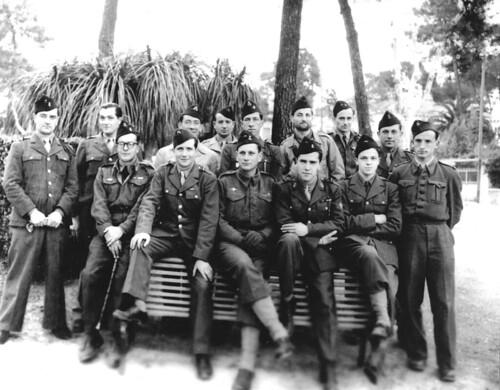 BIMP- 1945- 21 mars - Etat-Major du BIMP à   Juan les Pins