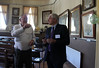 former President Graeme Orr with President Ken Warren Daylesford and District Historical Society 50th Anniversary_6188