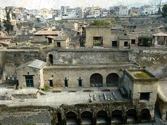 the shoreline and Herculaneum photo by jjamv