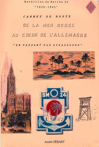 BM 24-  Source  Carnet de route d'André Sébart BM 24