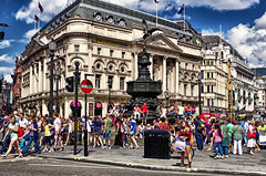 Piccadilly Circus second edition. London July 2013 photo by Smo_Q