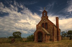 Poonindie Church South Australia photo by Jacqui Barker Photography