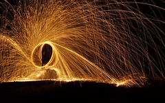 Steel wool at Hallett Cove (2) photo by Adriano_of_Adelaide