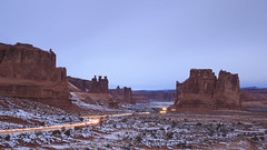 Arches NP at Late Dusk photo by BillikenHawkeye
