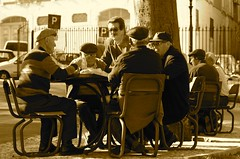 Playing cards in a Saturday afternoon photo by pedrosimoes7