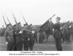1945 24Septembre Chelles 2è RIC - Fonds E. Gauthier