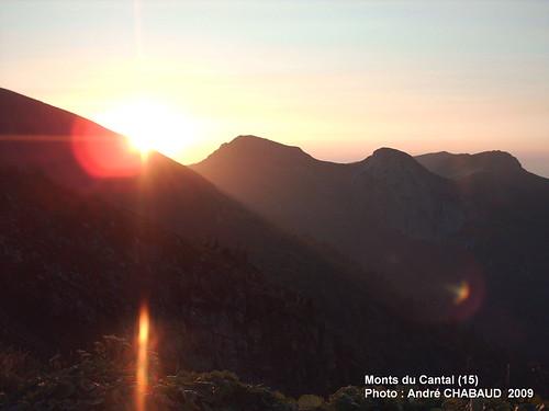 Coucher de soleil sur les Monts du Cantal (15)