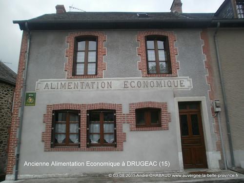 Ancienne Alimentation Economique à DRUGEAC (Cantal)