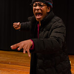 Caren Blackmore in THE MLK PROJECT: THE FIGHT FOR CIVIL RIGHTS at Writers Theatre. Photo by Tom McGrath.
