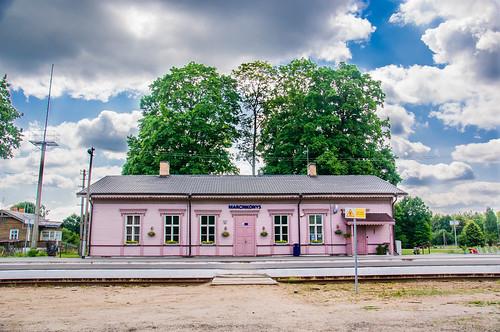 Marcinkonių geležinkelio stotis