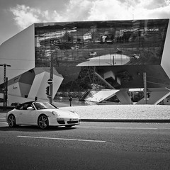 Porsche Museum photo by city/human/life (very busy)