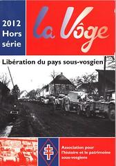 Couverture - La Voge hors série 2012 Libération du territoire sous-vosgien - AHPSV