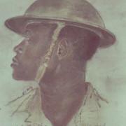 Portraits du peintre allemand Wilhelm Wessel, soldat de l'Afrika Korps