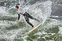 Michel Bourez - Men's Quarter Finals Vans US Open of Surfing 2013 photo by Caryson