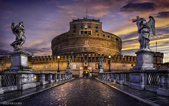 Castel Sant'Angelo (Roma) photo by dleiva