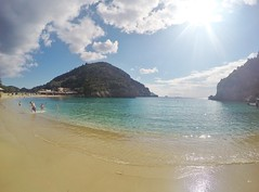 Corfu Beach photo by crowmogh