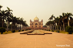 Tomb of Safdarjung, New Delhi photo by Parampreet Dhatt