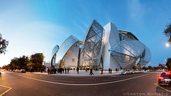 FLV. FONDATION LOUIS VUITTON , Avenue du Mahatma Gandhi , Paris, France photo by Gaston Batistini