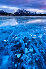 Shattered | Abraham Lake, Canadian Rockies photo by v on life