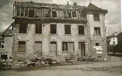 Masevaux- maison et  restes de la fontaine de la Vierge et la maison Farny  - Copyright Antoine Ehret