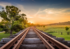Railway Track photo by Tam Church