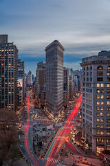 The Flatiron Building photo by Strykapose