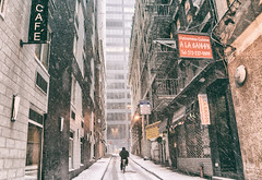 New York City - Snow - Financial District photo by Vivienne Gucwa