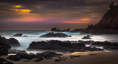 Coaly Rocks at Beach photo by **James Lee**