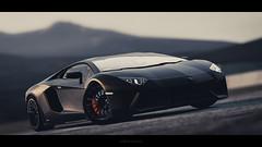 Lamborghini Aventador LP700-4 -  The Dark Knight photo by nbdesignz