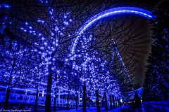 London Christmas Eye Winter Blues (New 2015 Version) photo by Simon & His Camera