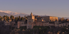 Spain - Andalucia - Granada - view of Alhambra photo by Harshil.Shah