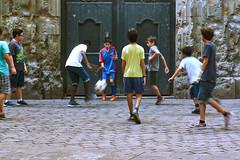 Playing Soccer photo by Erik Pronske