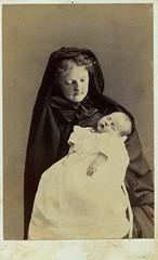 Her Loss, Albumen Carte de Visite, Circa 1870 photo by lisby1