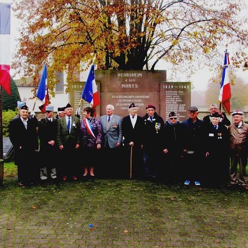 Herbsheim - Novembre 2014 - Voyage mémoire de la délégation ADFL - Blandine Bongrand Saint Hillier