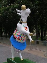 Vache N°112 - Miss Foot (René Page)