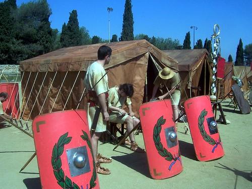 Campamento legionario