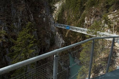 on the hiking trail--leutaschklamm