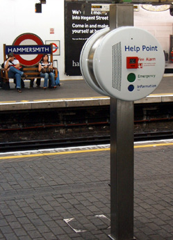 Help Point at Hammersmith - Oh why do you mock me?