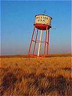 Groom's leaning water tower