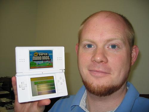 Bestia con una Nintendo DS